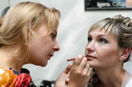 http://libraphoto.com - макияж невесты